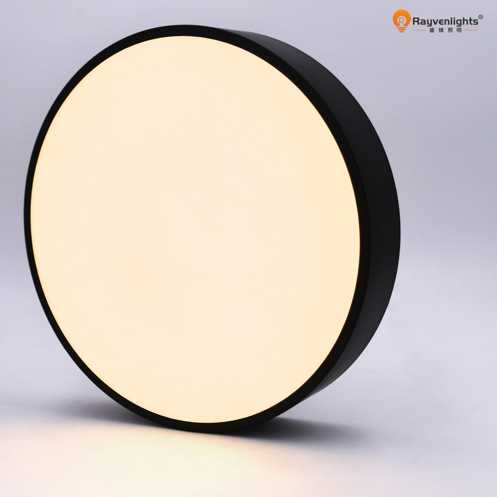 Round Ultra Thin Panel  1440lm Waterproof LED Surface Mount Ceiling Lights